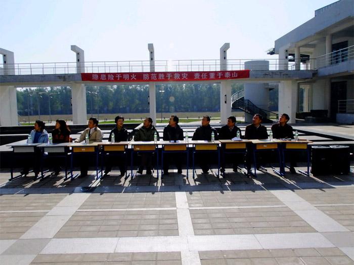 北京邮电大学宏福校区2010年消防疏散演习成功举行
