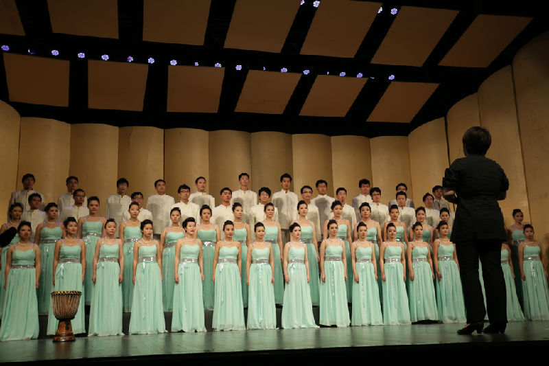 获器乐类管弦乐合奏(普通A组)二等奖   民乐分团《京调》获器乐类